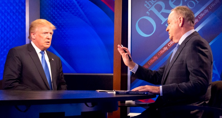 Trump, O'Reilly